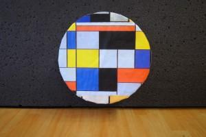Cible Mondrian par Jean-François